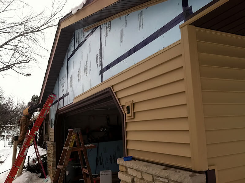 Oshkosh Siding Repair