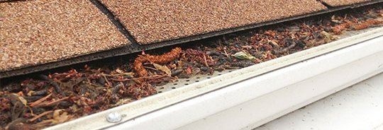 Leaf Relief gutter protection system installation